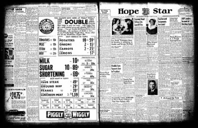 Hope Star from Hope, Arkansas on August 18, 1954 · Page 1