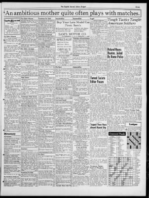 The Capital Journal From Salem Oregon On July 18 1942 Page 11