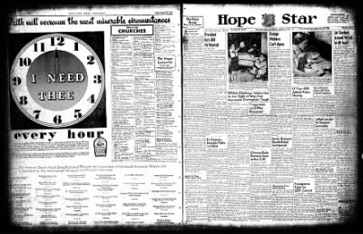 Hope Star from Hope, Arkansas on August 21, 1954 · Page 3