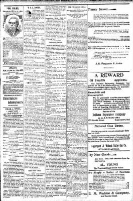 Logansport Pharos-Tribune from Logansport, Indiana on October 18, 1896 · Page 3