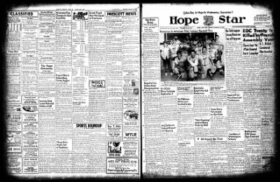 Hope Star from Hope, Arkansas on August 30, 1954 · Page 3