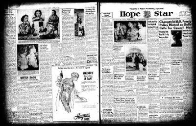 Hope Star from Hope, Arkansas on August 31, 1954 · Page 2