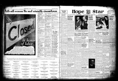 Hope Star from Hope, Arkansas on September 3, 1954 · Page 14