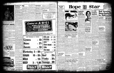Hope Star from Hope, Arkansas on September 8, 1954 · Page 3
