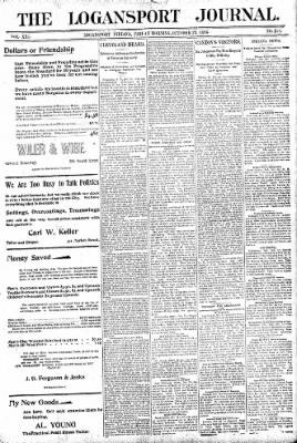 Logansport Pharos-Tribune from Logansport, Indiana on October 23, 1896 · Page 1