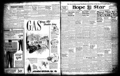 Hope Star from Hope, Arkansas on September 23, 1954 · Page 3
