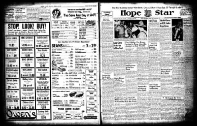 Hope Star from Hope, Arkansas on September 24, 1954 · Page 3