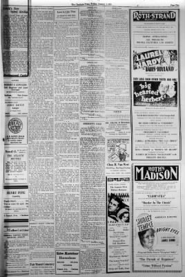 The Chatham Press From Chatham New Jersey On January 4 1935 Page 5