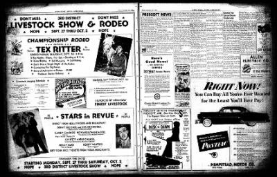 Hope Star from Hope, Arkansas on September 24, 1954 · Page 16