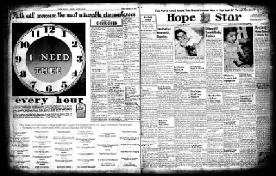 Hope Star from Hope, Arkansas on September 25, 1954 · Page 2