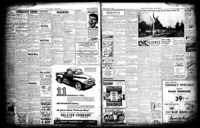 Hope Star from Hope, Arkansas on September 27, 1954 · Page 3