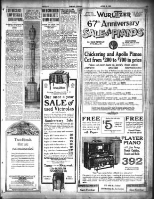 Oakland Tribune from Oakland, California on April 8, 1923 · Page 9