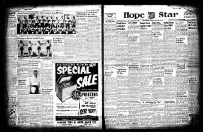 Hope Star from Hope, Arkansas on September 30, 1954 · Page 3