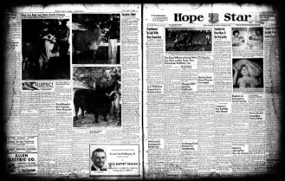 Hope Star from Hope, Arkansas on October 2, 1954 · Page 1