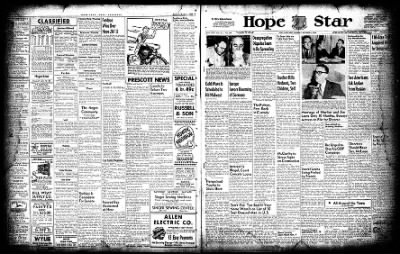 Hope Star from Hope, Arkansas on October 4, 1954 · Page 1