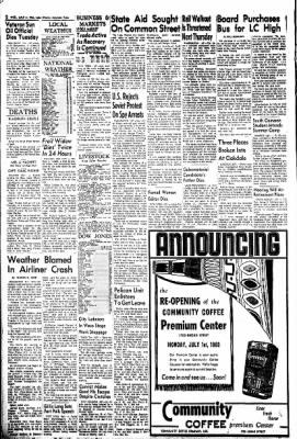 Lake Charles American-Press from Lake Charles, Louisiana on July 3, 1963 · Page 2