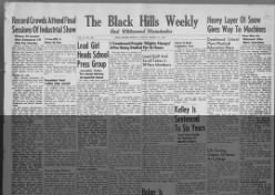The Black Hills Weekly