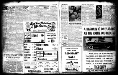 Hope Star from Hope, Arkansas on October 12, 1954 · Page 16
