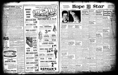 Hope Star from Hope, Arkansas on October 15, 1954 · Page 2