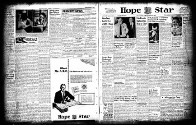 Hope Star from Hope, Arkansas on October 19, 1954 · Page 1