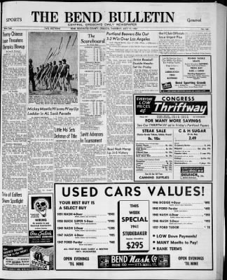 The Bend Bulletin from Bend, Oregon on July 17, 1952 · Page 9