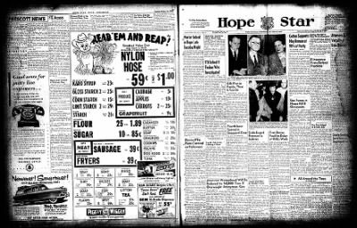 Hope Star from Hope, Arkansas on October 20, 1954 · Page 1