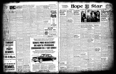 Hope Star from Hope, Arkansas on October 20, 1954 · Page 15