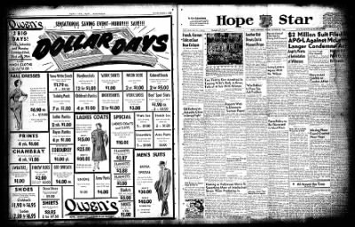 Hope Star from Hope, Arkansas on October 22, 1954 · Page 3