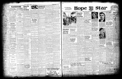 Hope Star from Hope, Arkansas on October 25, 1954 · Page 1