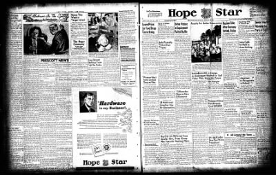 Hope Star from Hope, Arkansas on October 25, 1954 · Page 14