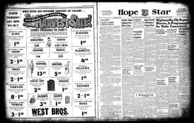 Hope Star from Hope, Arkansas on October 28, 1954 · Page 2
