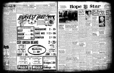 Hope Star from Hope, Arkansas on October 29, 1954 · Page 3