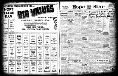 Hope Star from Hope, Arkansas on November 3, 1954 · Page 5