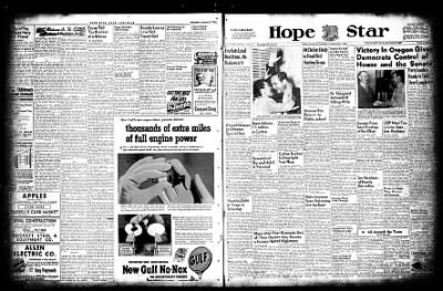 Hope Star from Hope, Arkansas on November 3, 1954 · Page 18