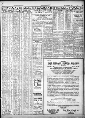 Oakland Tribune From California On January 26 1928 Page 31