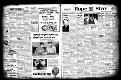 Hope Star from Hope, Arkansas on November 10, 1954 · Page 2