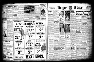 Hope Star from Hope, Arkansas on November 11, 1954 · Page 3