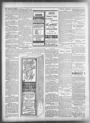 Daily Republican Journal From Salina Kansas On January 29 1897