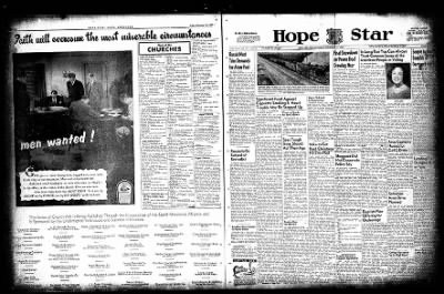 Hope Star from Hope, Arkansas on November 13, 1954 · Page 1