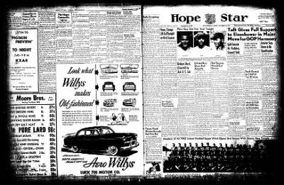 Hope Star from Hope, Arkansas on September 12, 1952 · Page 2