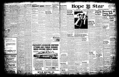 Hope Star from Hope, Arkansas on September 17, 1952 · Page 1