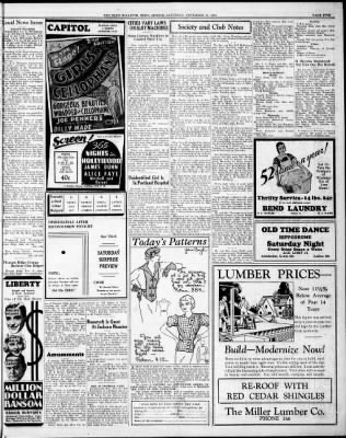 The Bend Bulletin from Bend, Oregon on November 17, 1934 · Page 5