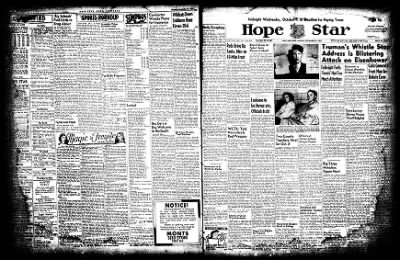 Hope Star from Hope, Arkansas on September 29, 1952 · Page 2