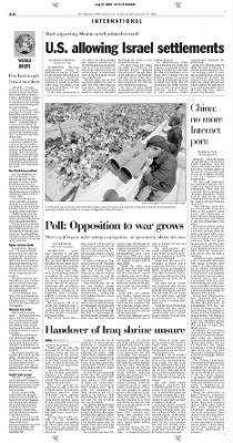 Pittsburgh Post-Gazette from Pittsburgh, Pennsylvania on August 21, 2004 · Page 4