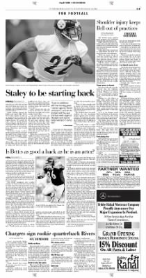 Pittsburgh Post-Gazette from Pittsburgh, Pennsylvania on August 24, 2004 · Page 37
