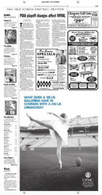 Pittsburgh Post-Gazette from Pittsburgh, Pennsylvania on August 25, 2004 · Page 99