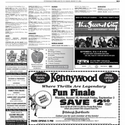 Pittsburgh Post-Gazette from Pittsburgh, Pennsylvania on August 27, 2004 · Page 66