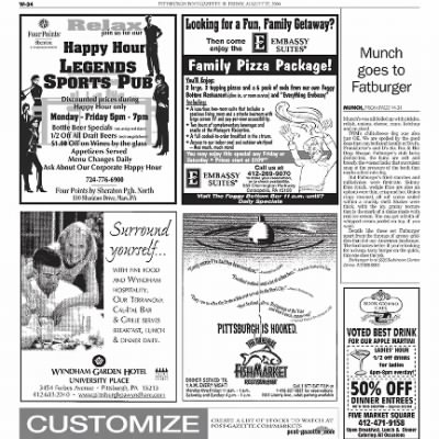 Pittsburgh Post-Gazette from Pittsburgh, Pennsylvania on August 27, 2004 · Page 90