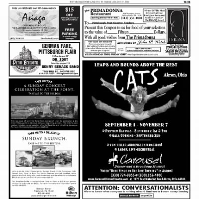 Pittsburgh Post-Gazette from Pittsburgh, Pennsylvania on August 27, 2004 · Page 91