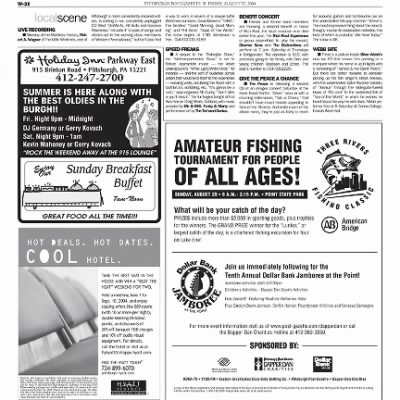 Pittsburgh Post-Gazette from Pittsburgh, Pennsylvania on August 27, 2004 · Page 94